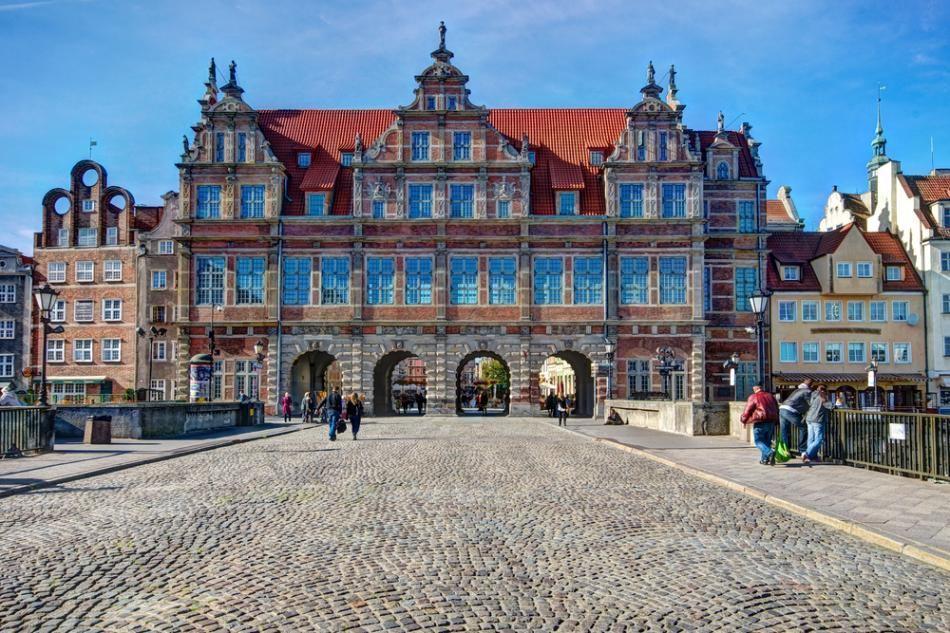 Zielona Brama w Gdansku