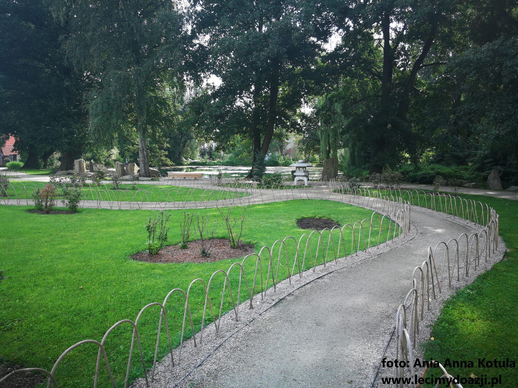 Ogrod Japonski, Park Oliwski w Gdańsku