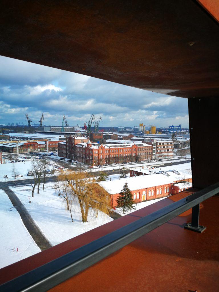 widok-z-Tarasu-Widokowego-Europejskie-Centrum-Solidarności-Gdańsk
