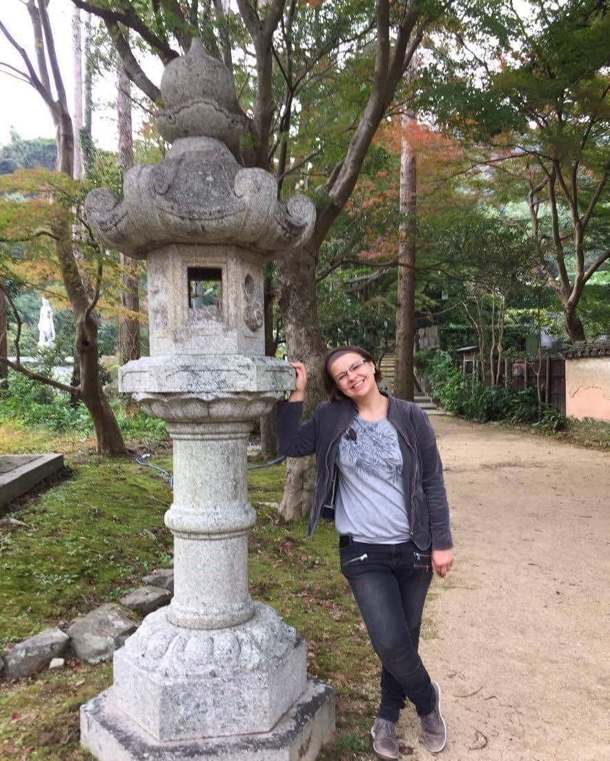 Latarnia-w-stylu-Kasuga-dōrō-Shimonoseki-Japonia
