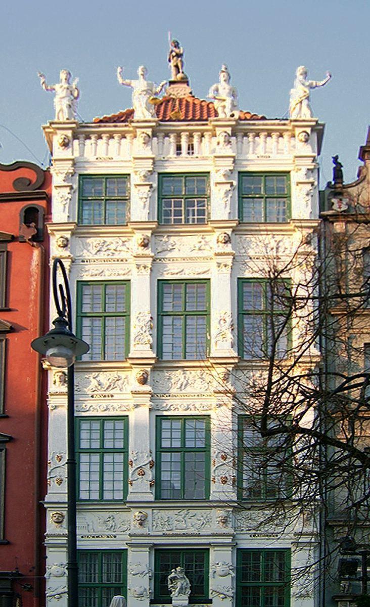 Zlota Kamienica w Gdansku, Droga Królewska w Gdańsku