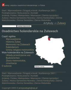 Katalog zabytków osadnictwa holenderskiego w Polsce