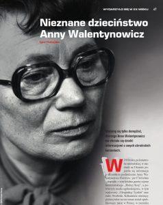 Nieznane dzieciństwo Anny Walentynowicz pdf