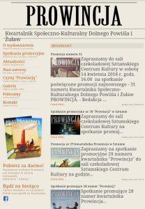 ProwincjaKwartalnik Społeczno-Kulturalny Dolnego Powiśla i Żuław pdf