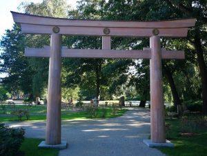 Torii z Parku Oliwskiego